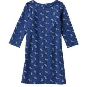 VINEYARD VINES -  Polka Dot Tisbury Whale Dress